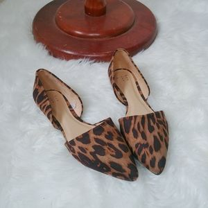 Leopard slip on shoes Flats A new day 7.5